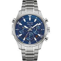 Relojes & Joyas Hombre Relojes analógicos Bulova 96B256, Quartz, 43mm, 10ATM Plata