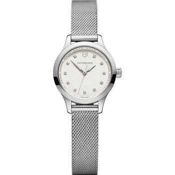 Relojes & Joyas Mujer Relojes analógicos Victorinox 241878, Quartz, 28mm, 10ATM Plata