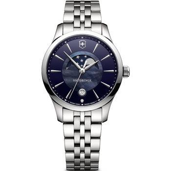Relojes & Joyas Mujer Relojes analógicos Victorinox 241752, Quartz, 35mm, 10ATM Plata