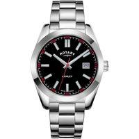 Relojes & Joyas Hombre Relojes analógicos Rotary GB05180/04, Quartz, 40mm, 10ATM Plata