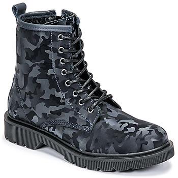 Zapatos Mujer Botas de caña baja Fericelli PARMA Marino