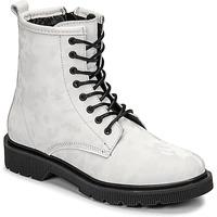 Zapatos Mujer Botas de caña baja Fericelli PARMA Blanco