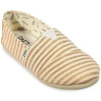 Zapatos Mujer Alpargatas Paez Gum Original Classic W Oro