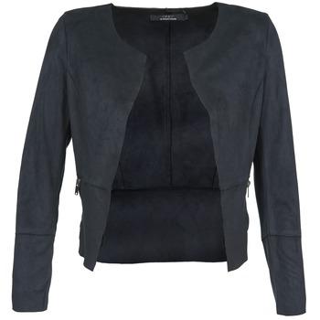 textil Mujer Chaquetas de cuero / Polipiel Only KIM Marino