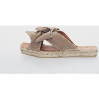 Zapatos Mujer Alpargatas Macarena MIKO 7 Marrón