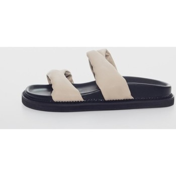 Zapatos Mujer Zuecos (Mules) Kamome C1432 Beige