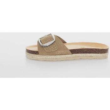 Zapatos Mujer Zuecos (Mules) Yokono JAVA-134 Marrón
