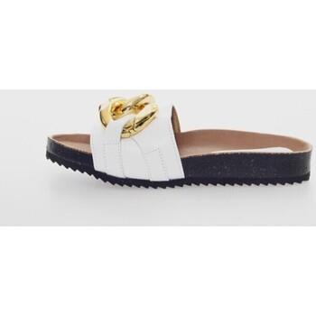 Zapatos Mujer Zuecos (Mules) Penelope 6051 Blanc