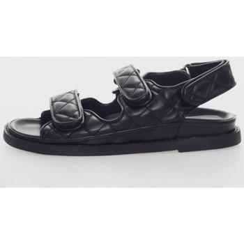 Zapatos Mujer Sandalias Kamome C1431 Noir