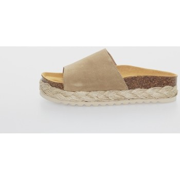Zapatos Mujer Alpargatas Belang 05303 Marrón