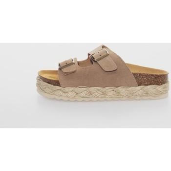 Zapatos Mujer Zuecos (Mules) Belang 05304 Marrón