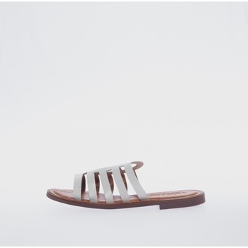 Zapatos Mujer Zuecos (Mules) Wikers 77359 Blanco