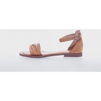 Zapatos Mujer Sandalias Wikers 77380 Marrón