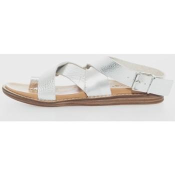 Zapatos Mujer Sandalias Inuovo 436029 Plata