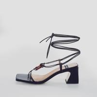 Zapatos Mujer Sandalias Angel Alarcon 21029 Negro