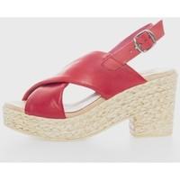 Zapatos Mujer Sandalias Cokketta 490 Rojo