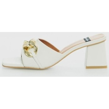 Zapatos Mujer Zuecos (Mules) Angel Alarcon 21253-528 Beige