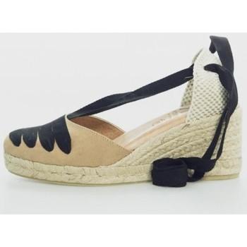 Zapatos Mujer Alpargatas Cokketta 1550 Marrón