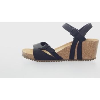Zapatos Mujer Sandalias Interbios 5612 Negro