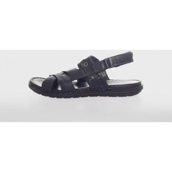 Zapatos Hombre Sandalias Walk & Fly 28200 Negro