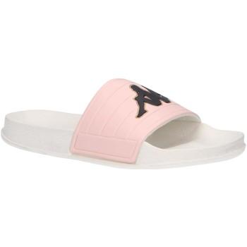 Zapatos Niña Chanclas Kappa 304Q930 LOGO MATESE Blanco