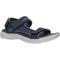Zapatos Niño Sandalias Skechers 92223L SUPREME Azul