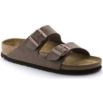 Zapatos Hombre Zuecos (Mules) Birkenstock ARIZONA TAUPE