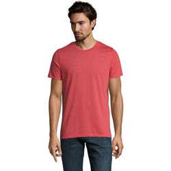 textil Hombre Camisetas manga corta Sols Mixed Men camiseta hombre Rojo