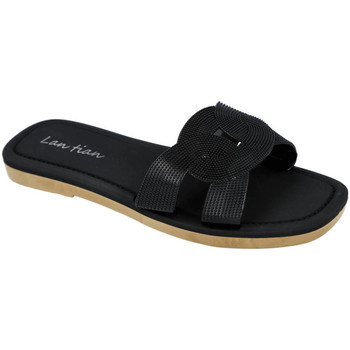 Zapatos Mujer Chanclas L&R Shoes 8038 NEGRO