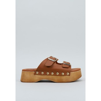 Zapatos Mujer Zuecos (Mules) Krack  Marrón