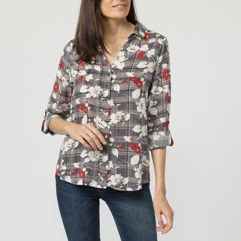 textil Mujer Camisas Anany AN-160534 AZUL