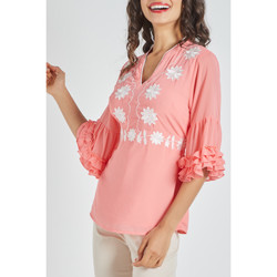 textil Mujer Camisas Anany AN-190130 CORAL