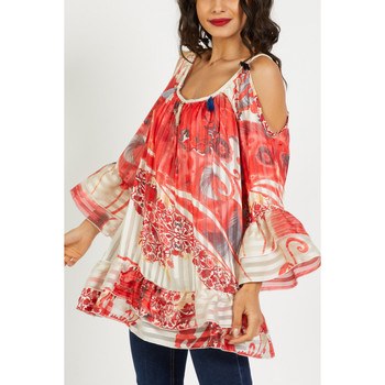 textil Mujer Tops / Blusas Anany AN-190301 ROJO