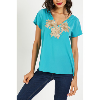 textil Mujer Tops / Blusas Anany AN-260124 AZUL