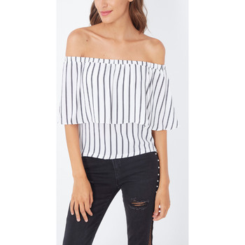 textil Mujer Tops / Blusas Anany AN-H040024 BLANCO