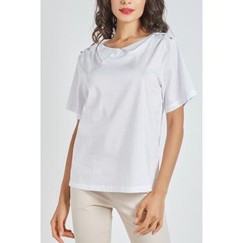 textil Mujer Tops / Blusas Sinty SI-130047 BLANCO