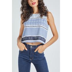 textil Mujer Tops / Blusas Sinty SI-290141 AZUL