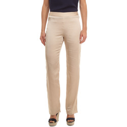 textil Mujer Pantalones fluidos Anany AN-040292 BEIGE