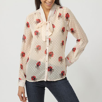 textil Mujer Camisas Anany AN-260230 BEIGE