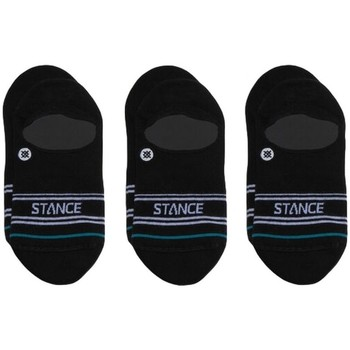 Accesorios Hombre Calcetines Stance Basic 3 Pack No Show Negro