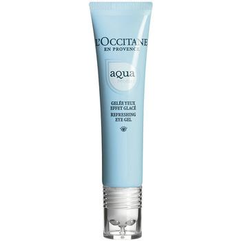 Belleza Mujer Hidratantes & nutritivos L'occitane Aqua Réotier Gelée Yeux Effet Glacé  15 ml