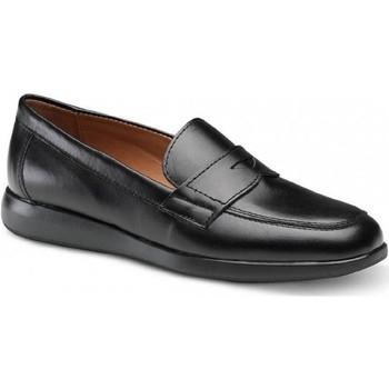 Zapatos Mujer Mocasín Feliz Caminar CALZADO LABORAL ALBA - Negro