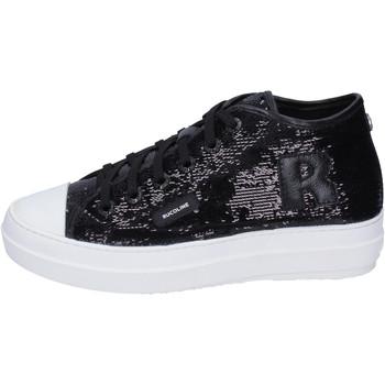 Zapatos Mujer Zapatillas altas Rucoline BH358 Negro
