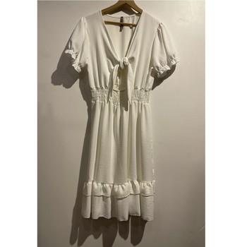 textil Mujer Vestidos cortos Fashion brands 9176-BLANC Blanco
