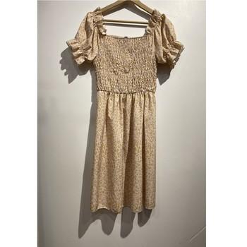 textil Mujer Vestidos cortos Fashion brands 53176-BEIGE Beige