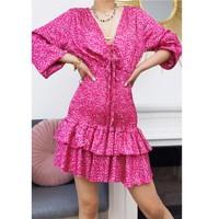 textil Mujer Vestidos cortos Fashion brands 22974-FUSHIA Fucsia