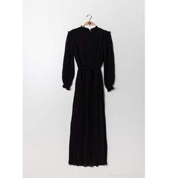 textil Mujer Vestidos cortos Fashion brands 9805-NOIR Negro