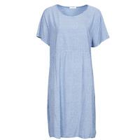 textil Mujer Vestidos cortos Fashion brands 2198Z-BLEU Kaki