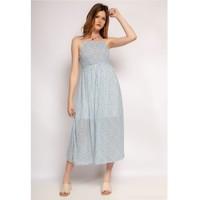 textil Mujer Vestidos cortos Fashion brands 571-BLEU-CLAIR Azul / Claro