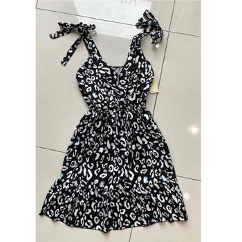 textil Mujer Vestidos cortos Fashion brands 5165-NOIR Negro